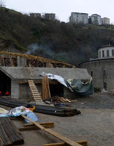 Trabzon'da tepki çeken proje durduruldu
