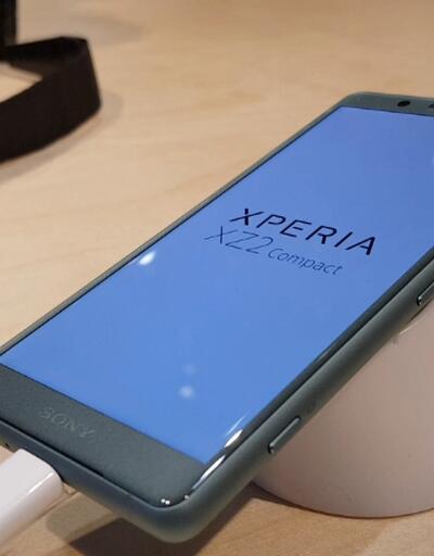 Sony Xperia XZ2 Compact ilk bakış