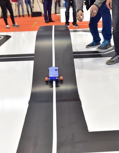 Kahramanmaraş'ta robotlar yarıştı