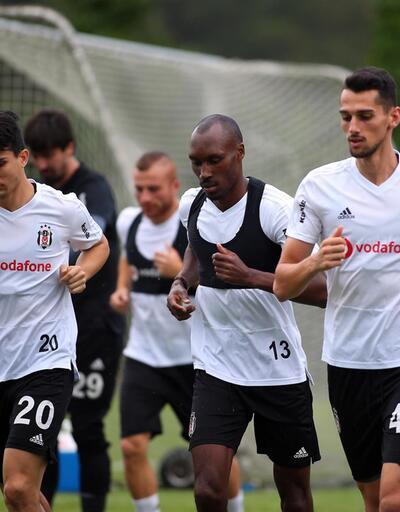 Beşiktaş millilerden yoksun çalıştı