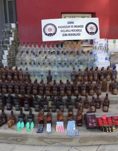 Adana polisinden 'Duman-altı' operasyonu