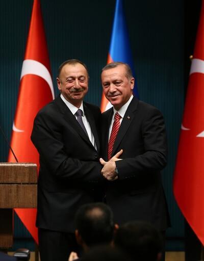 Aliyev'den Cumhurbaşkanı Erdoğan'a 29 Ekim kutlama mesajı