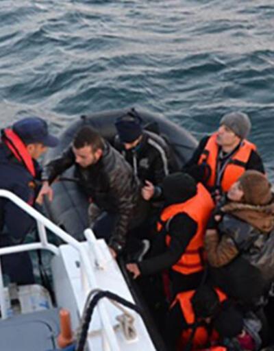 Saroz'da göçmen faciasını Sahil Güvenlik önledi