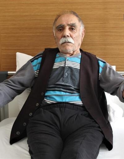 105 yaşındaki adam geçirdiği operasyonla sağlığına kavuştu