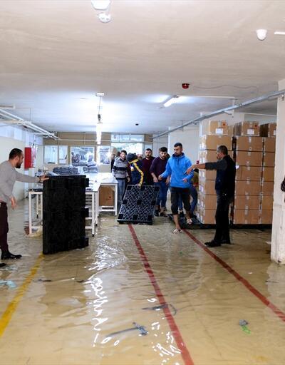 Bitlis'te şiddetli yağış etkili oldu