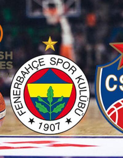 Fenerbahçe CSKA Moskova basketbol maçı ne zaman, saat kaçta, hangi kanalda?