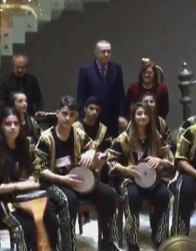 Cumhurbaşkanı Erdoğan'a Gaziantep'te sürpriz
