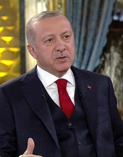 Cumhurbaşkanı Erdoğan'dan anket yorumu