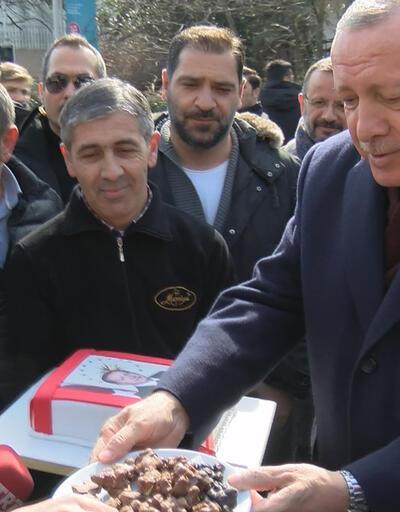 Vatandaşlardan Cumhurbaşkanı Erdoğan'a doğum günü sürprizi