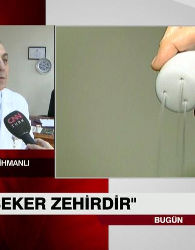Prof. Dr. Mehmet Mihmanlı uyardı: Tuz ve şekere dikkat