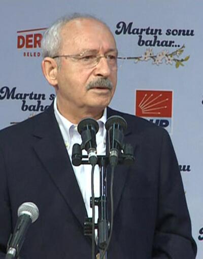 """Kılıçdaroğlu: """"Üretmiyoruz ithal ediyoruz"""""""