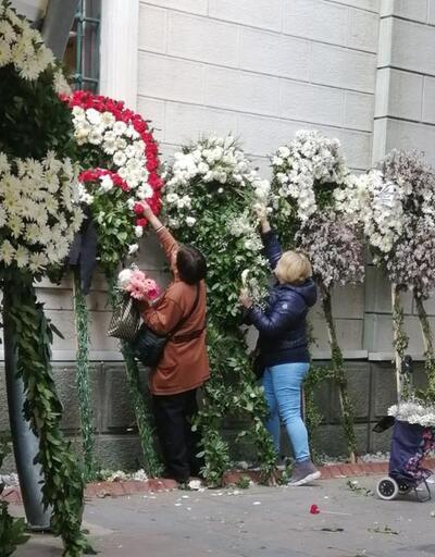 Zafer Çika'nın cenaze töreninde 'pes' dedirten görüntü