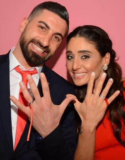 Kayserispor kalecisi Muammer Yıldırım ile basketbolcu Dila Aşkın nişanlandı