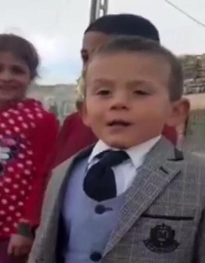 5 yaşındaki muhtar adayından yeni video