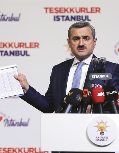 Son dakika... AK Parti İstanbul İl Başkanı Şenocak'tan itiraz açıklaması