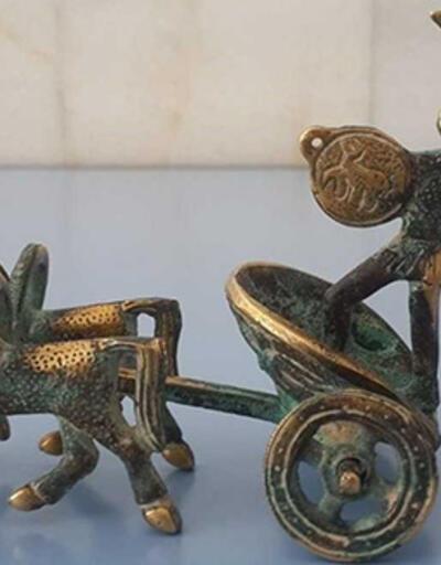 Roma dönemine ait heykel bulundu