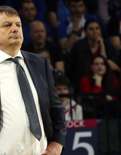 Ergin Ataman: Kötü hücum yaptık