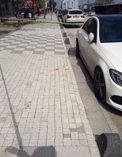 Tekirdağ'da esnafın tartışması silahlı kavgaya dönüştü: 1 yaralı
