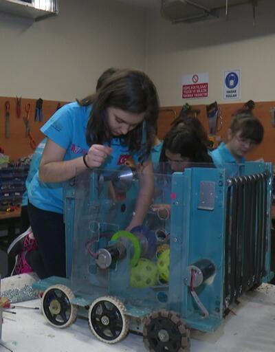 Darüşşafaka Lisesi öğrencilerine NASA'dan robot ödülü