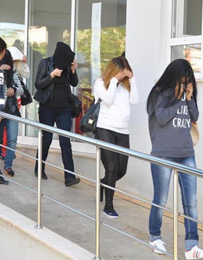 Trabzon'da fuhuş operasyonu! 15 kişi gözaltına alındı