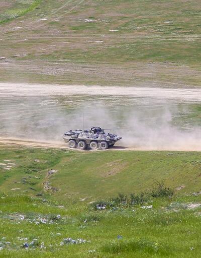 Türkiye ve Azerbaycan'dan savaş sahnelerini aratmayan tatbikat