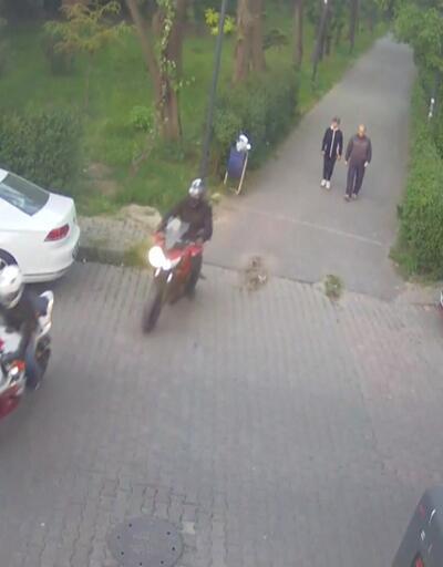 Motosiklet hırsızlarından akılalmaz yöntem!