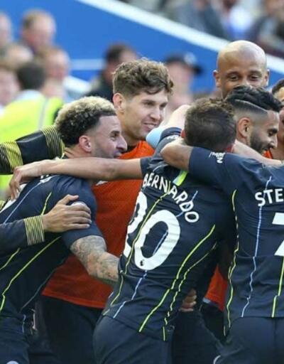 İngiltere'de Manchester City şampiyon oldu