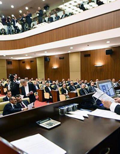Ankara Büyükşehir Belediye Meclisinde önerge tartışması