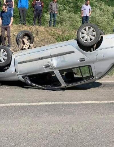 Kazadan sonra kucağından bırakmadığı minik kızı, hastanede kurtarılamadı