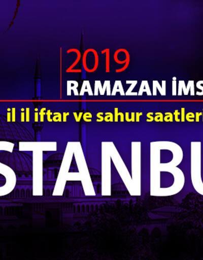 İftar saati ne zaman? İstanbul için iftar vakti 27 Mayıs 2019