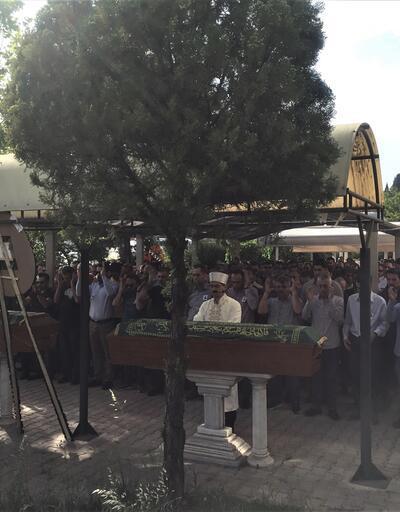 Siyanürlü sıvı ile ölen anne ve baba için cenaze töreni düzenlendi