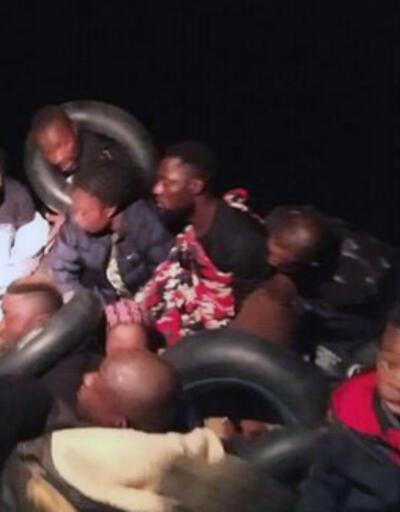 Dikili açıklarında 41 kaçak göçmen yakalandı