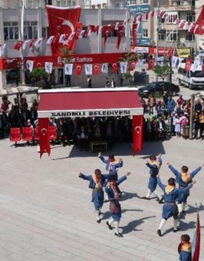 Sandıklı'da 19 Mayıs kutlaması