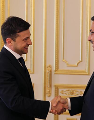 Cumhurbaşkanı Yardımcısı Oktay, Ukrayna Devlet Başkanı'yla görüştü