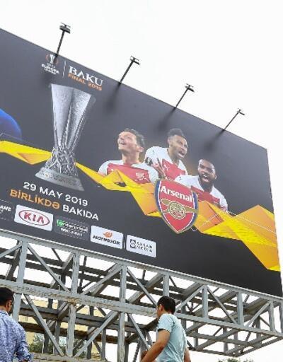 Arsenal-Chelsea finali öncesi büyük coşku