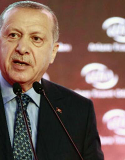 Cumhurbaşkanı Erdoğan'dan Türk Kızılayı mesajı