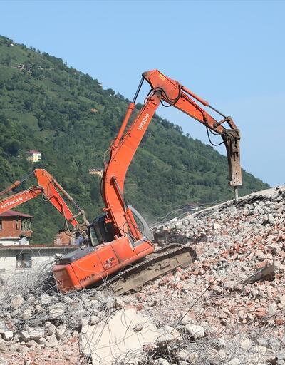Fırtına Vadisi'nde kaçak yapıların yıkımına başlandı