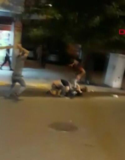İki ailenin kavgasında kalaslı saldırı