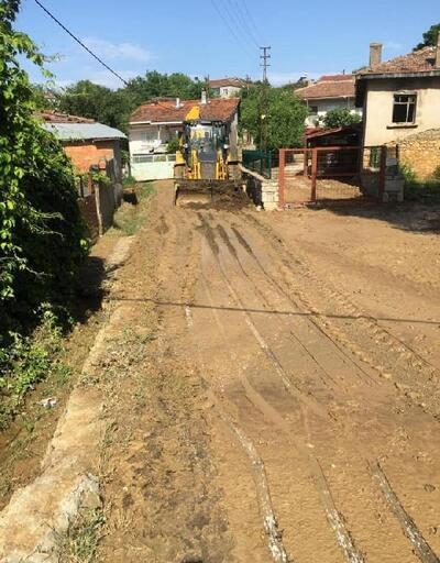 Keşan'da tarım arazilerinde sel zararı