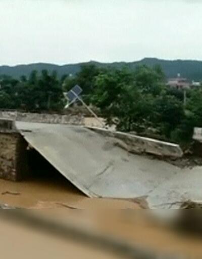 Çin'de sel felaketi