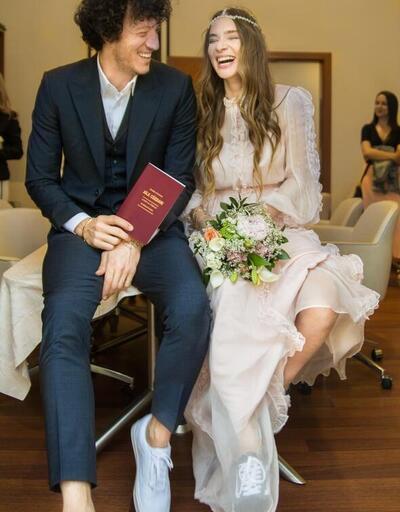 Müge Boz'un nikahından yeni kareler