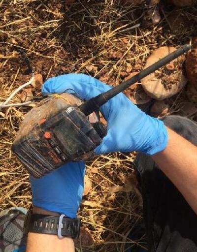 Yola tuzaklanan patlayıcı imha edildi