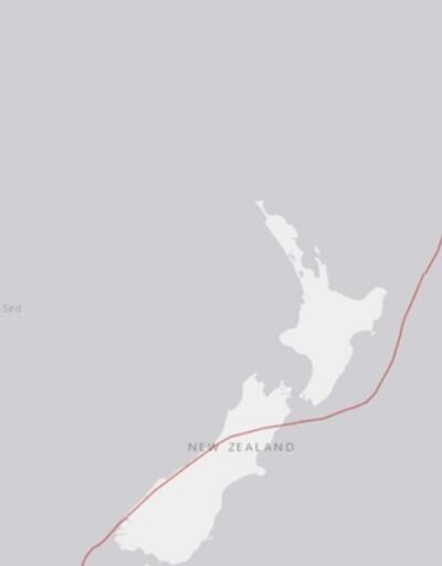 Son dakika... Yeni Zelanda'da 6,8 büyüklüğünde deprem
