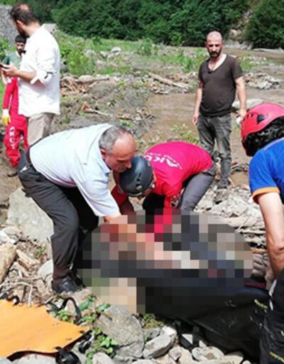 Son dakika... Trabzon'un Araklı ilçesindeki selde ölü sayısı 5'e yükseldi