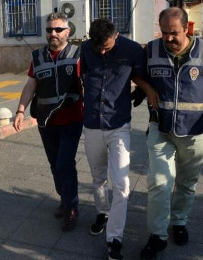 Hapis cezası ile aranan hırsız, mahallede gezerken yakalandı