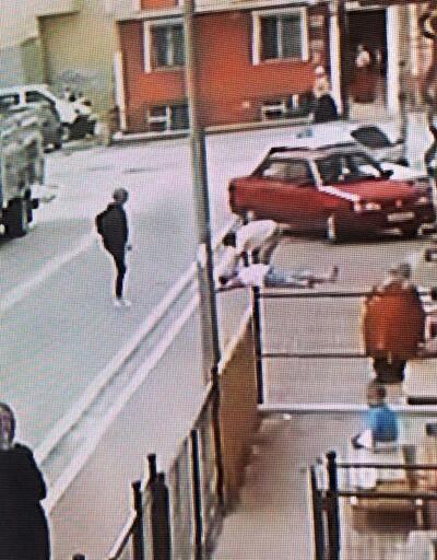 Oğlunun yediği trafik cezasına sinirlenen baba mahalleyi birbirine kattı