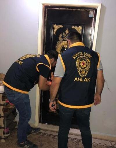 Adıyaman'da fuhuş operasyonu: 9 gözaltı