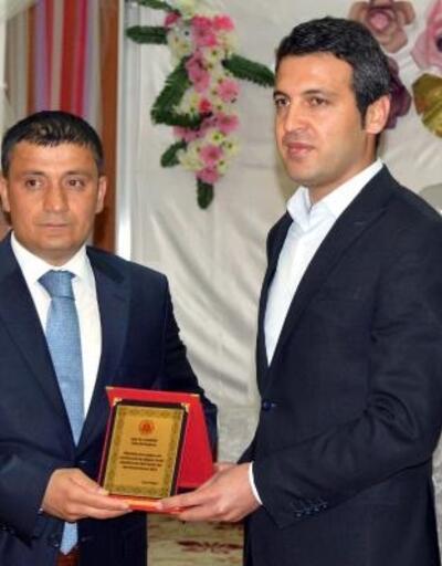 Erciş'de hakim ve savcılara veda yemeği