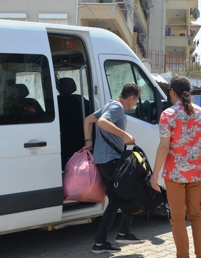 Ayvalık'ta 10kaçak göçmen yakalandı