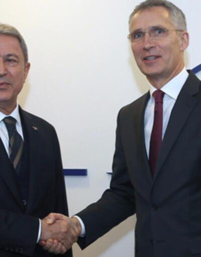 Son dakika: Bakan Akar, NATO Genel Sekreteri Stoltenberg ile görüştü